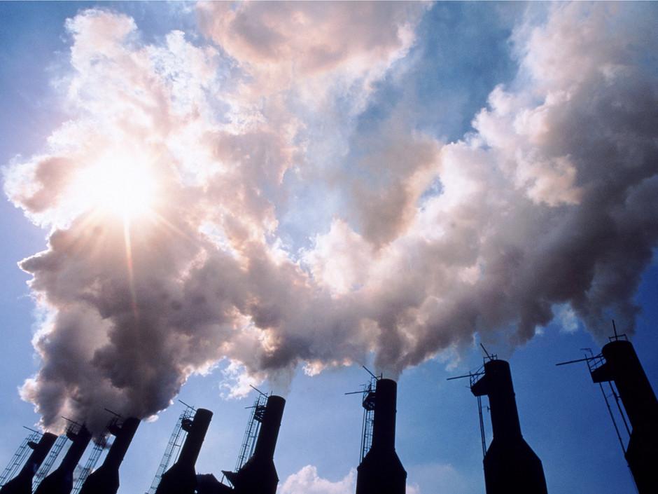 Relâchement de gaz à effet de serre